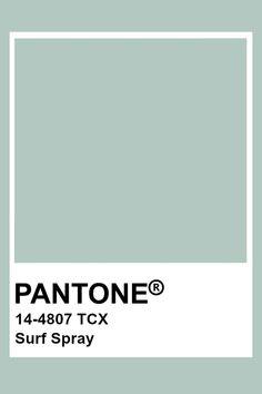 Pantone Colour Palettes, Pantone Color, Pantone Blue, Pantone Swatches, Color Swatches, Colour Pallete, Colour Schemes, Paleta Pantone, Surf Spray