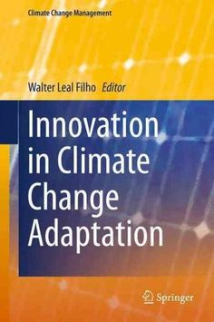 Innovation in Climate Change Adaptation (Hardcover)