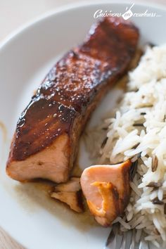 Saumon teriyaki - Cuisinons En Couleurs - The Best Dinner Recipes Salmon Recipes, Fish Recipes, Meat Recipes, Indian Food Recipes, Dinner Recipes, Cooking Recipes, Healthy Recipes, Drink Recipes, Healthy Eating Tips