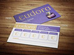 Cartões de visita - Eudora 2 - Impresso - Store R3