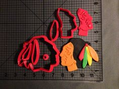 Chicago Blackhawks Cookie Cutter Set by JBCookieCutters on Etsy, $8.50 | i waant this )):