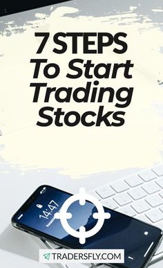 Stock Trading - Follow these 7 steps to start trading stock and earn money! Stock Market Investing, Investing In Stocks, Make More Money, Earn Money, Stock Market Basics, Dividend Stocks, Stock Charts, Knowledge And Wisdom, Educational Videos