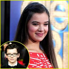 Hailee Steinfeld is going to be Petra in Ender's Game. Makes me like Petra more...
