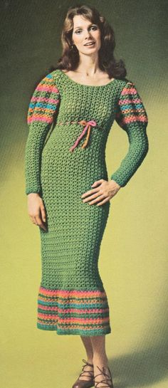 In women's wear, crochet material was very fashionable.  It could be seen as a detail or trim on a garment, or the entire garment itself.