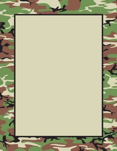Military Borders Clipart - Clipart Suggest Camouflage Party, Camo Party, Army Birthday Parties, Army's Birthday, Birthday Frames, Military Party, Hunting Party, Borders For Paper, Birthday Invitations