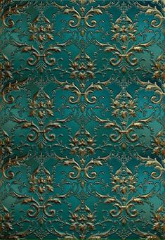 fondClick the link now to find the center in you with our amazing selections of items ranging from yoga apparel to meditation space decor! Decoupage Vintage, Decoupage Paper, Vintage Paper, Molduras Vintage, Teal And Gold, Islamic Art, Pattern Wallpaper, Damask Wallpaper, Pattern Art