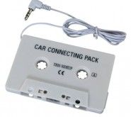 eForCity ACCESSORY Compatible with iPod® ZUNE CAR CASSETTE TAPE DECK ADAPTOR