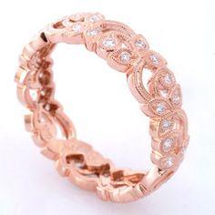 ROSE GOLD WEDDING BAND <3