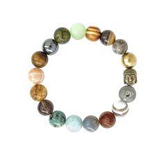 COAI® Malachite and Tiger Eye Chakra Balancing Bracelet Protective Bracelet Yoga Bracelet lOCyYwCb