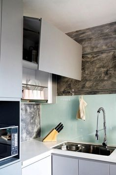 White House Theme Wet Amp Dry Kitchen Interior Design
