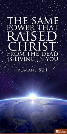 """The true born again believer seeking holiness, hating sin and loving God and people holds this power. Jesus and thr Holy Spirit living in him/her. What a beautiful truth and awesome grace of God! Which is why we cry out """"ABBA Father!"""" Romans 8"""