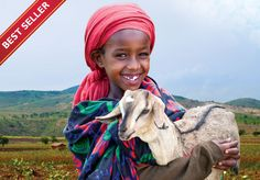 Item #00026  Goats improve the future for families in need.  Goats provide the two-fold benefit of generating income and supplying protein-rich food and dairy. The combination of two goats can quickly produce a small herd.  $50