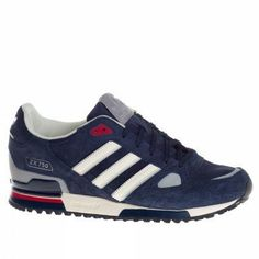 Adidas Trainers Shoes Mens Zx 750 Dark Blue