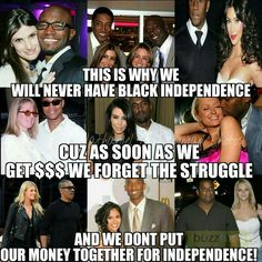 "Coons are shit. There could be so much more progress among black people but with stupid white ass licking coon men we especially black women will never go anywhere still waiting on these Niggers to do better. They would rather give their money and resources to oppressors who don't need it and don't give a shit about them.  But the black male identified mammies will still continue to have ""faith"" in a lost group of men."