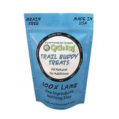 Trail Buddy Treats are 100% one ingredient and nothing else, which dogs and we…