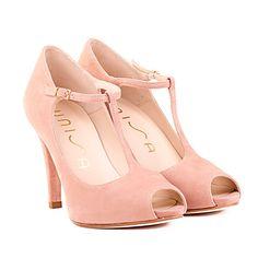 UNISA zapato rosa