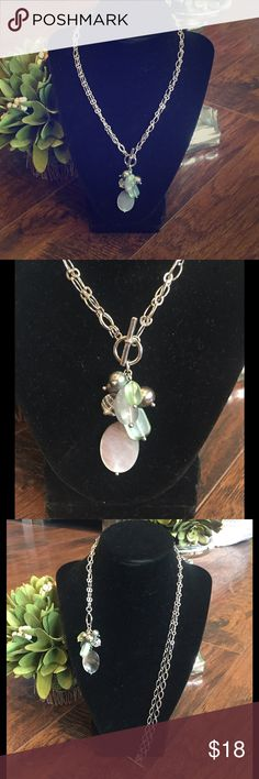 REDUCED! Bundle and save! Beautiful Lia Sophia necklace. Wear it long or short! Like new! Lia Sophia Jewelry