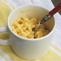 How to make macaroni and cheese instantly in the microwave.