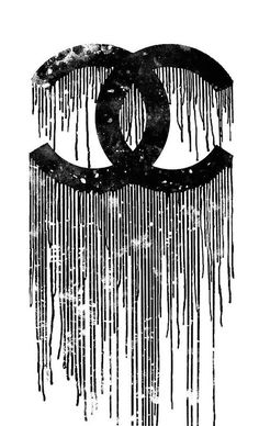 Chanel Logo, Chanel Poster, Chanel Print, Chanel Chanel, Chanel Canvas, Chanel Perfume, Black And White Picture Wall, Black And White Wallpaper, Black Aesthetic Wallpaper