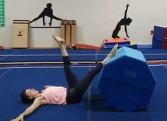 Gymnastics Conditioning: 6 Intermediate Exercises To Do On an Octagon (or Stability Ball) – Gymnastics Rocks!