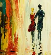 Image result for modern couple paintings