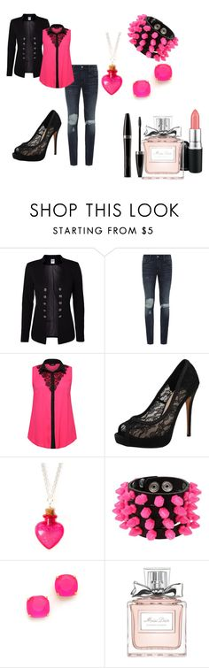 """""""Untitled #33"""" by nerdyturtlex ❤ liked on Polyvore featuring Vero Moda, Denim & Supply by Ralph Lauren, Vince Camuto, claire's, Mia Bag, Kate Spade, MAC Cosmetics, Christian Dior and Mary Kay"""