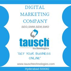 Tausch Technologies is the best IT Services Company in Hyderabad, We offer solutions and services like Web Development, Digital Marketing services and It Services Company, Digital Marketing Services, Hyderabad, Web Development, Online Business, Seo, Web Design, Technology, Tech
