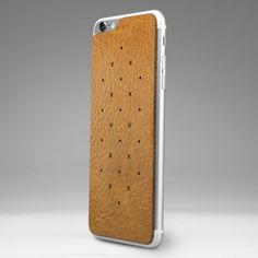 Leather Back for iPhone 6/6s Plus - Vegetable Tanned Leather