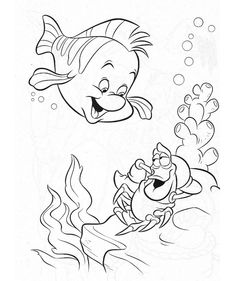 Little Mermaid Coloring Page 920 Free