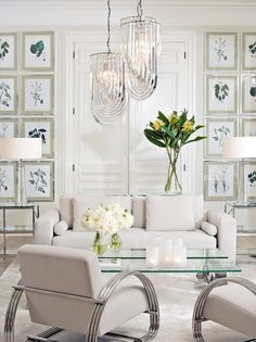 Beige Living Rooms, Elegant Living Room, Elegant Home Decor, Elegant Homes, Beige And White Living Room, Living Room Chairs, Home Living Room, Living Room Furniture, Living Room Designs
