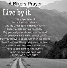 bikers prayer motorcycle | THE POWER OF TWO: Bikers Prayer!!
