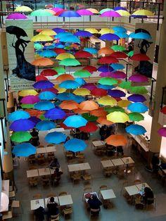 Umbrellas - Art Installation