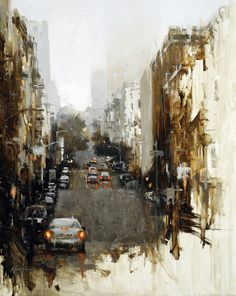 Hsin-Yao Tseng, Composition 6.  Perfectly beautiful cityscape.