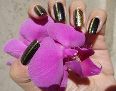 Um blog sobre esmaltes e cosméticos em geral. Foil Nails, Beauty, Gold Toe Nails, Gold Wire, Gold Gold, General Goods, Nailed It, Strands, Enamels