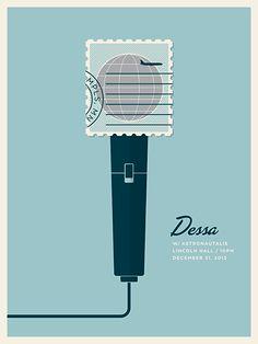 New Concert Posters by Jason Munn