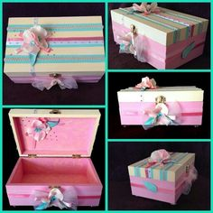 Lovely color combination Jewelry box gift idea