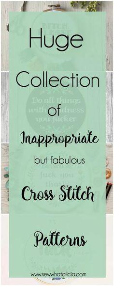 Funny Cross Stitch Patterns, Cross Stitch Kits, Cross Stitch Designs, Cross Stitch Family, Cross Stitch Quotes, Cross Stitch Bookmarks, Cross Stitching, Cross Stitch Embroidery, Embroidery Patterns