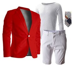 """Red blazer for casual outfits"" by flatseven on Polyvore"