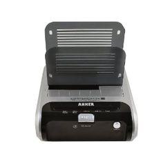 Anker USB 3.0 2.5/3.5-inch SATA Hard Drive docking station(two slots) - Black(support data clone between two disks) (Electronics)  http://www.amazon.com/dp/B005UA3I72/?tag=goandtalk-20  B005UA3I72