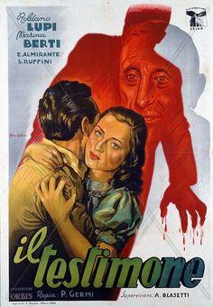 Il Testimone (1945) // Pietro Germi