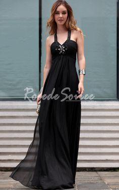 Noire robe de soirée licol [RES120730033] - €139.16 : Robe de Soirée Pas Cher,Robe de Cocktail Pas Cher,Robe de Mariage,Robe de Soirée Cocktail.