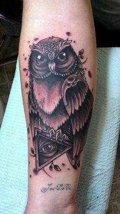 http://tattoo-ideas.us Owl tattoo