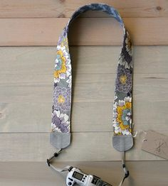 Dahlia Camera Strap by Bluebird Chic on Scoutmob Shoppe