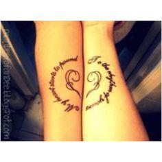 Couple tattoo