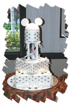 Our Disney wedding cake Free Wedding, Wedding Tips, Our Wedding, Wedding Planning, Wedding Posing, 1920s Wedding, Beautiful Wedding Cakes, Beautiful Cakes, Disney Inspired Wedding
