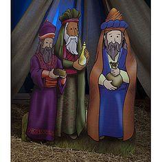 Three Wisemen Standee « Mutant Faces