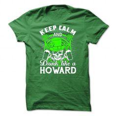 Cool HOWARD T shirts