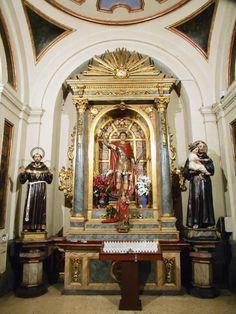 Lado del Evangelio. Altar de San Expedito.