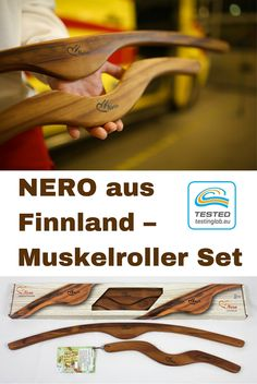 NERO ist ein Must-Have-Produkt für selbstmassage beim Sport und Fitness. NERO -Muskelroller Set enthält zwei verschiedene Massagegeräte für behandlung und vorbeugung von Muskelbeschwerden.