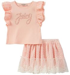 bfe5cb4b0d7 Take a look at this Pink   Gold Pineapple Ruffle-Accent Romper - Girls  today!
